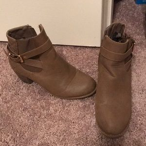 Cute booties from Modcloth